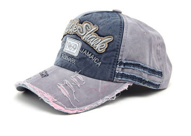 Chine La casquette de baseball de denim de papa de sports d'Ourdoor avec la sangle réglable confortable absorbent la sueur usine